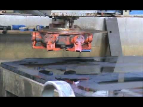 Polishing Granite Slabs: A Demonstration By Great Lakes Granite & Marble