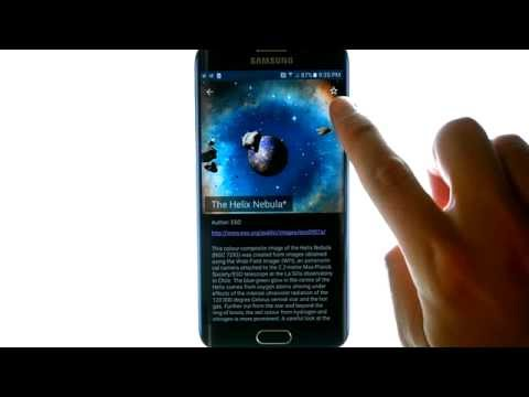 Asteroids 3D Live Wallpaper - App Review - SkyDiver Labs