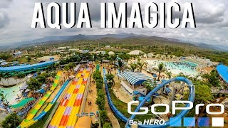 BIGGEST WATER PARK | AQUA IMAGICA | INDIA | GOPRO HERO 5