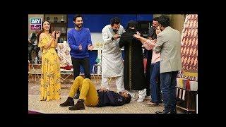 """Ab to Peena Paray Ga"" is played by Faysal Qureshi,Sana Askari, Minhaj,Dua & Sohail"