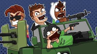 GTA 5 Funny Moments - Motor Wars! Epic Wins Epic Fails!