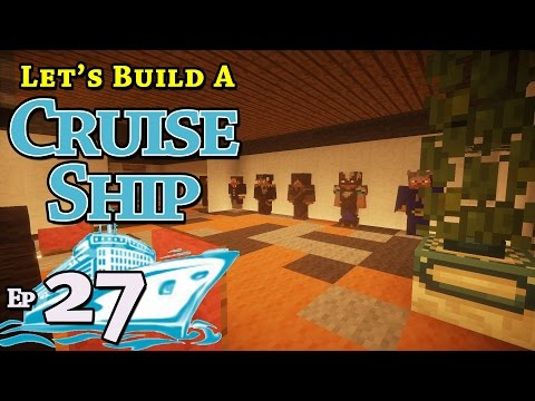 How To Build A Cruise Ship :: Minecraft :: E27 :: Z One N Only