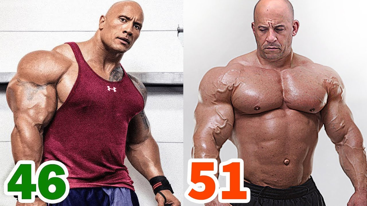 The Rock vs Vin Diesel Transformation ★ 2019