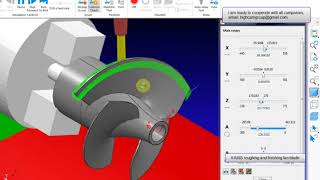 Autodesk PowerMill - Creating 4 Axis toolpath using Surface
