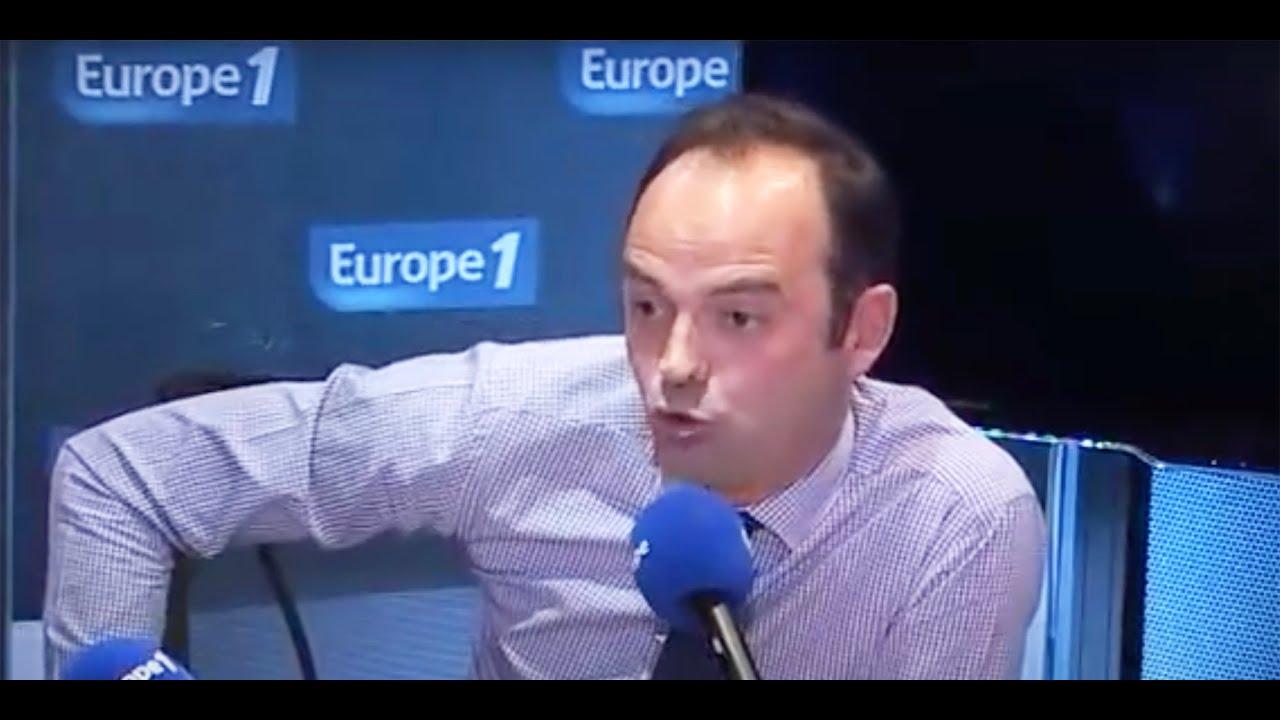 Quand Edouard Philippe imitait Valéry Giscard d'Estaing sur Europe 1
