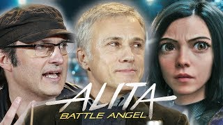 Alita: Battle Angel - full Berlin press conference with Robert Rodriguez & Christoph Waltz