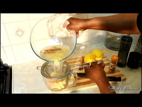 Lose Weight Fast With Lemon & Ginger & Cinnamon | Recipes By Chef Ricardo