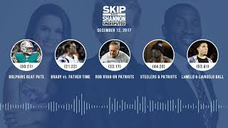 UNDISPUTED Audio Podcast (12.12.17) with Skip Bayless, Shannon Sharpe, Joy Taylor | UNDISPUTED