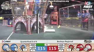 Quarterfinal 8 - 2017 Buckeye Regional
