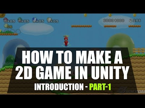 How to Make a 2D Game | Unity Game Programming for Beginners | Part 1 | Eduonix