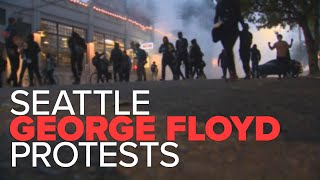 Capitol Hill protest escalates into a riot Monday night