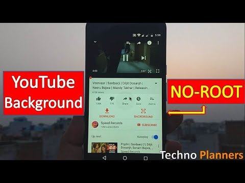 How to Play YouTube video in background on Android - NO ROOT
