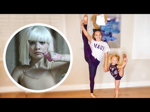 MADDIE ZIEGLER TEACHES EVERLEIGH HER OLD DANCE SOLO!!!