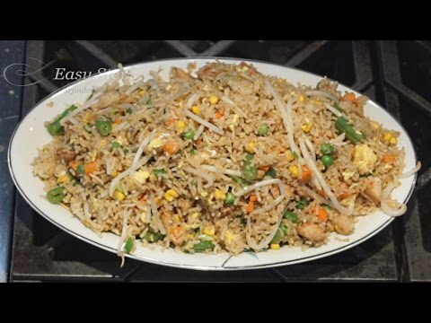How to make Chicken Fried Rice | Quick Easy & Delicious Authentic Chinese Style Chicken Fried Rice
