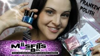 FRANKENPOLISH! - DIY Nail Polish Kits by Misfits on 8th - Product Review and First Impression