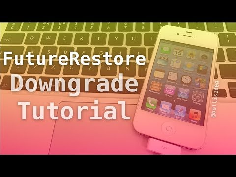FutureRestore - Downgrade to Any iOS Version (w/Blobs Saved) on 32-bit Devices TUTORIAL