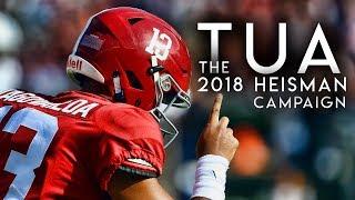 The 2018 Heisman Trailer: Highlights from Tua Tagovailoa