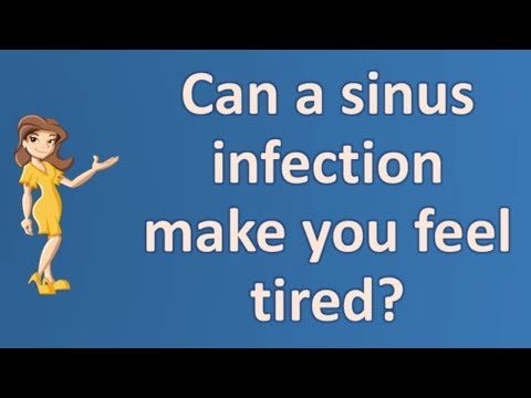 Can a sinus infection make you feel tired ? | Best Health FAQ Channel