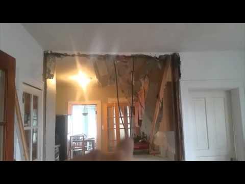 enlarging a kitchen doorway
