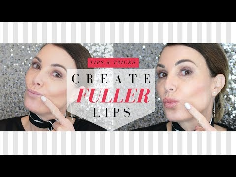 How To Get Fuller Lips In Minutes  - Makeup Tutorial