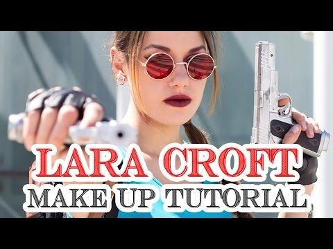 Lara Croft - Tomb Raider Classic cosplay make up tutorial