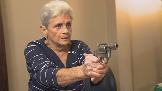 Grandma Pulls Out Pistol When Intruder Invades Her Home