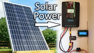 Small Solar Power Setup (For electric bike charging)