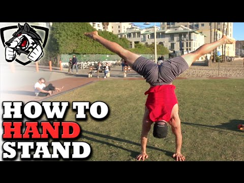 How to Do a Handstand for a Long Period of Time!
