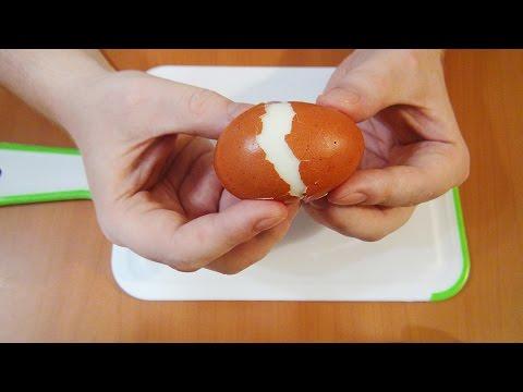 Peel an Egg Like a Superman