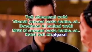 Kabira Karaoke Instrumental Yeh Jawani Hai Deewani