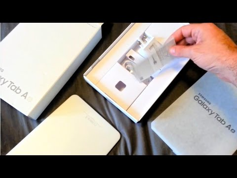 Unboxing Samsung Galaxy Tab A6 10.1 2016 and Review