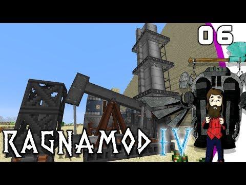[Minecraft] Ragnamod IV #06 - Immersive Petroleum