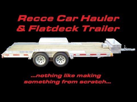 Recce RallySport / Car Hauler & Flatdeck Trailer - The Build Story