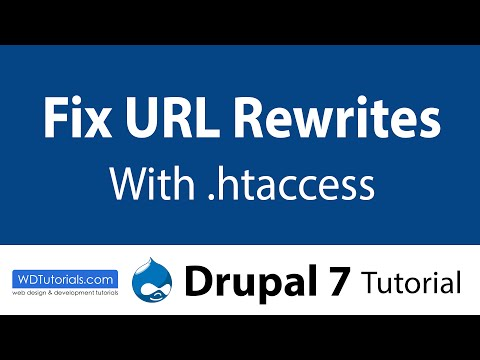 Drupal 7 - How To Fix URL Rewriting On Localhost