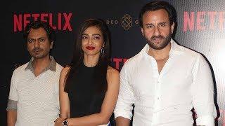 Sacred Games Netflix Web Series Launch Full Video HD   Saif Ali Khan, Nawazuddin, Radhika Apte