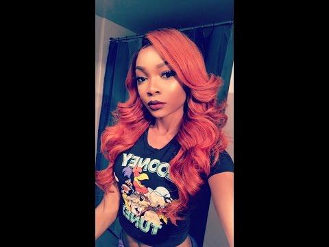 Does My Orange Hair Curl?