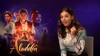 Download Naomi Scott on auditioning for Aladdin Video