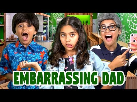 Embarrassing Dad App : SKETCH COMEDY // GEM Sisters