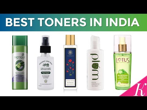 10 Best Toners in India with Price | Facial Toner | 2017
