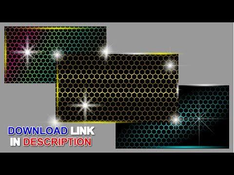 CorelDraw Tutorials || How to design honeycomb Pattern,  Download free CDR File