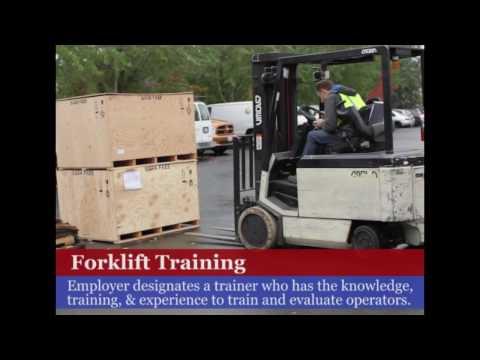 OSHA Forklift Operator Training Requirements