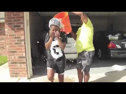 Kimbo's ALS ICE WATER CHALLENGE!!!!