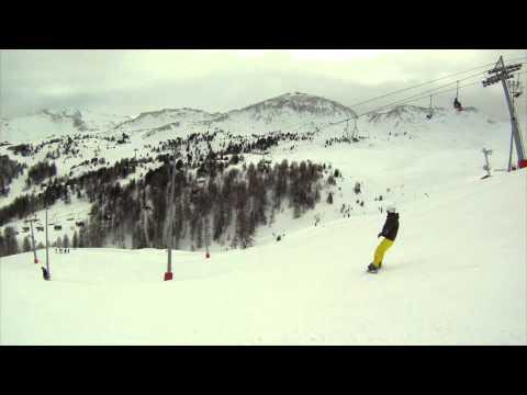 ski go pro la plagne