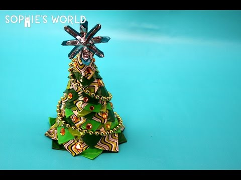 How to Make a Duct Tape Christmas Tree|Sophie's World