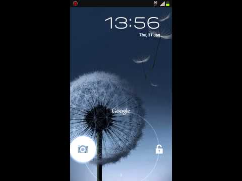 Get the Original Jelly Bean lock screen on the I9300