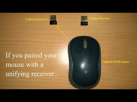 How to Pair Logitech Mouse with Original Non-Unifying Receiver