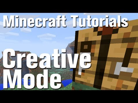 Minecraft Tutorial: How to Use Creative Mode in Minecraft