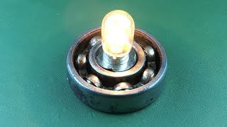 Electric free energy light bulb with magnets new technology idea 2018