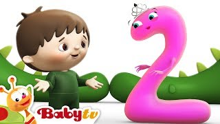 Counting with Charlie & The Numbers - Charlie Meets Number 2 | BabyTV