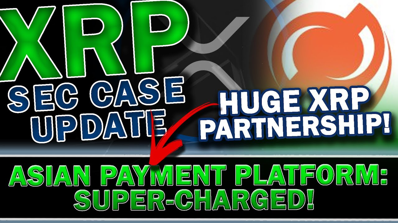 MAJOR XRP RIPPLE UPDATE: HUGE XRP Partnership USING XRP To Expand Cross Border Payments! + SEC News!